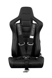 Braum ® - Black 5 Point 3 Inch SFI 16.1 Racing Harness (BRH-BKS5)
