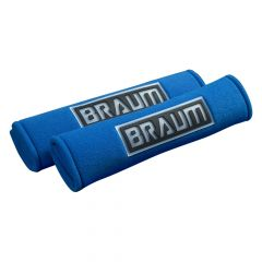 Braum Pair Of Blue Racing Harness Pads BRHP-2BLU