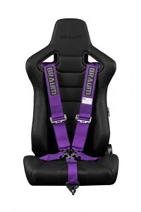 Braum ® - Purple 5 Point 3 Inch SFI 16.1 Racing Harness (BRH-PUS5)