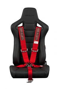 Braum ® - Red 5 Point 3 Inch SFI 16.1 Racing Harness (BRH-RDS5)