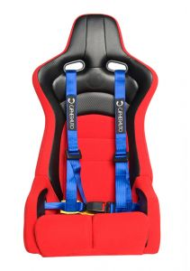 Cipher Auto ® - Blue 4 Point 2 Inches Racing Harness Set (CPA4002BL)