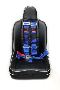Cipher Auto ® - Blue 5 Point 3 Inches Release Racing Harness with Snap Hook & Eye Bolts (CPA4003BU)