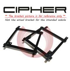 Cipher Auto ® - Driver Side Custom Seat Bracket (7058CVCLRD-DR)