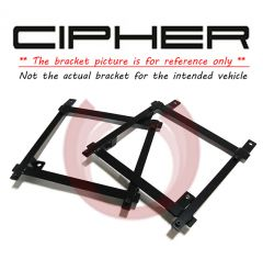Cipher Auto ® - Driver Side Custom Seat Bracket (7154FDRNGR-DR)