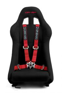 Cipher Auto ® - Red 4 Point 2 Inches Camlock Quick Release Racing Harness Set (CPA4001RD)