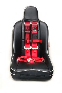 Cipher Auto ® - Red 5 Point 3 Inches Release Racing Harness with Snap Hook & Eye Bolts (CPA4003RD)
