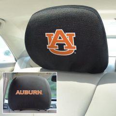 Fanmats ® - Pair of Auburn University Universal Headrest Covers (12558)