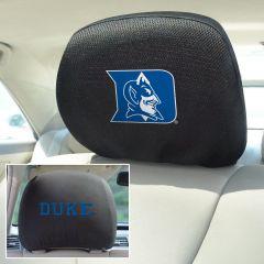 Fanmats ® - Pair of Duke University Universal Headrest Covers (12564)