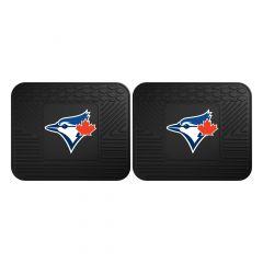 Fanmats ® - Pair of MLB Toronto Blue Jays Universal Vinyl Utility Rear Floor Mats (12348)