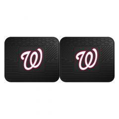 Fanmats ® - Pair of MLB Washington Nationals Universal Vinyl Utility Rear Floor Mats (12347)