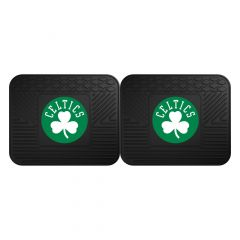Fanmats ® - Pair of NBA Boston Celtics Universal Vinyl Utility Rear Floor Mats (12433)