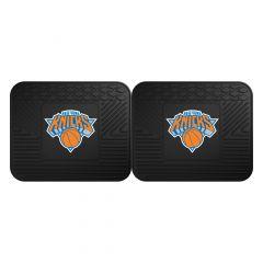 Fanmats ® - Pair of NBA New York Knicks Universal Vinyl Utility Rear Floor Mats (12382)