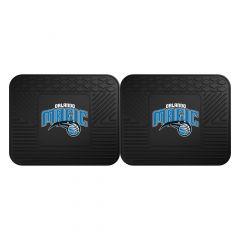 Fanmats ® - Pair of NBA Orlando Magic Universal Vinyl Utility Rear Floor Mats (12383)