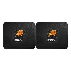 Fanmats ® - Pair of NBA Phoenix Suns Universal Vinyl Utility Rear Floor Mats (12385)