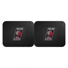 Fanmats ® - Pair of NBA Portland Trail Blazers Universal Vinyl Utility Rear Floor Mats (12386)