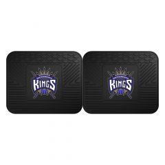 Fanmats ® - Pair of NBA Sacramento Kings Universal Vinyl Utility Rear Floor Mats (12387)