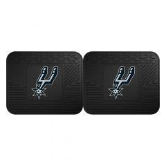 Fanmats ® - Pair of NBA San Antonio Spurs Universal Vinyl Utility Rear Floor Mats (12388)
