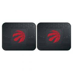 Fanmats ® - Pair of NBA Toronto Raptors Universal Vinyl Utility Rear Floor Mats (12390)