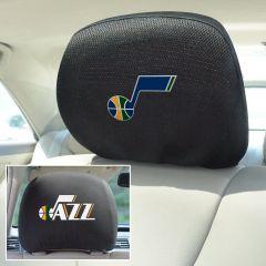 Fanmats ® - Pair of NBA Utah Jazz Universal Headrest Covers (14777)