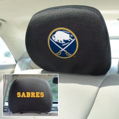 Fanmats ® - Pair of NHL Buffalo Sabres Universal Headrest Covers (14779)