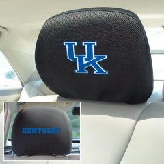 Fanmats ® - Pair of University of Kentucky Universal Headrest Covers (12575)