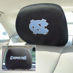 Fanmats ® - Pair of University of North Carolina Chapel Hill Universal Headrest Covers (12609)