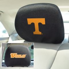 Fanmats ® - Pair of University of Tennessee Universal Headrest Covers (12594)