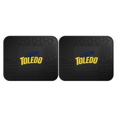 Fanmats ® - Pair of University of Toledo Universal Vinyl Utility Rear Floor Mats (17948)