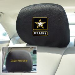 Fanmats ® - Pair of US Army Universal Headrest Covers (15690)