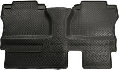 Husky Liners ® - Classic Style Black Custom 2nd Seat Floor Liner (65581)