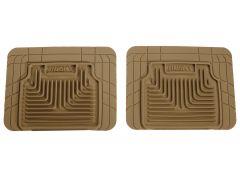 Husky Liners ® - Heavy Duty Tan Custom 2nd Or 3rd Seat Floor Mats (52033)