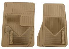 Husky Liners ® - Heavy Duty Tan Custom Front Floor Mats (51123)