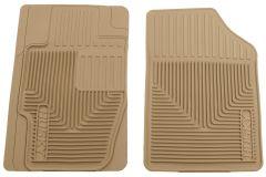 Husky Liners ® - Heavy Duty Tan Custom Front Floor Mats (51173)