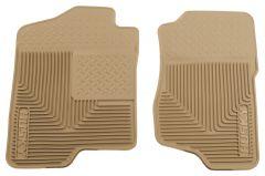 Husky Liners ® - Heavy Duty Tan Custom Front Floor Mats (51183)
