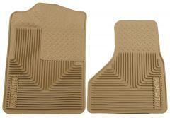 Husky Liners ® - Heavy Duty Tan Custom Front Floor Mats (51203)
