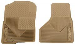Husky Liners ® - Heavy Duty Tan Custom Front Floor Mats (51223)