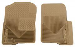 Husky Liners ® - Heavy Duty Tan Custom Front Floor Mats (51233)