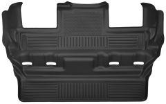 Husky Liners ® - X-act Contour™ Black Custom 3rd Seat Floor Liner (53191)