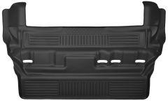 Husky Liners ® - X-act Contour™ Black Custom 3rd Seat Floor Liner (53261)