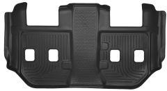 Husky Liners ® - X-act Contour™ Black Custom 3rd Seat Floor Liner (53281)