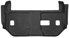 Husky Liners ® - X-act Contour™ Black Custom 3rd Seat Floor Liner (53291)