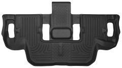 Husky Liners ® - X-act Contour™ Black Custom 3rd Seat Floor Liner (53951)