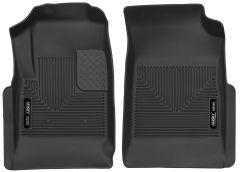 Husky Liners ® - X-act Contour™ Black Custom Front Floor Liners (53121)