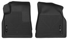 Husky Liners ® - X-act Contour™ Black Custom Front Floor Liners (53141)