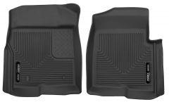 Husky Liners ® - X-act Contour™ Black Custom Front Floor Liners (53311)