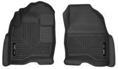 Husky Liners ® - X-act Contour™ Black Custom Front Floor Liners (53331)
