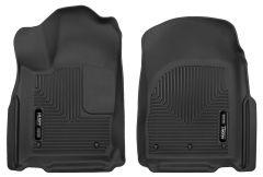 Husky Liners ® - X-act Contour™ Black Custom Front Floor Liners (53561)