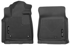Husky Liners ® - X-act Contour™ Black Custom Front Floor Liners (53711)