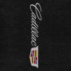 Lloyd Mats Velourtex Black Front Floor Mats For Cadillac XT5, Logo
