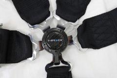 NRG ® - Black 6 Point 3 Inches Cam Lock Seat Belt Harness (SBH-6PCBK)